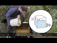VIDEO Phosphorus removal filter boxes in drained agricultural fields